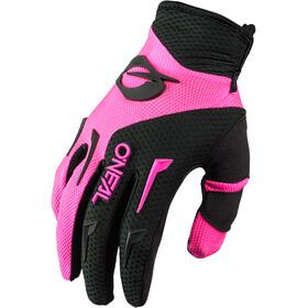 O'Neal Element Gloves Women, negro/rosa